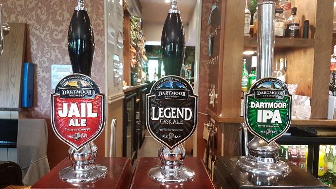 Dartmoor Brewery ales