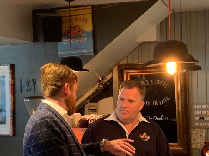 Dartmoor Brewery Keg IPA launch event