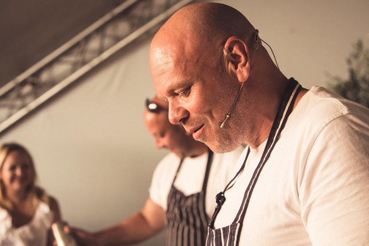 Tom Kerridge at Pub in the Park