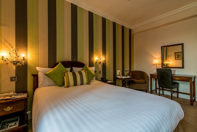 Bedroom at The Bedford Hotel