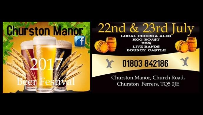 Churston Manor Beer Festival