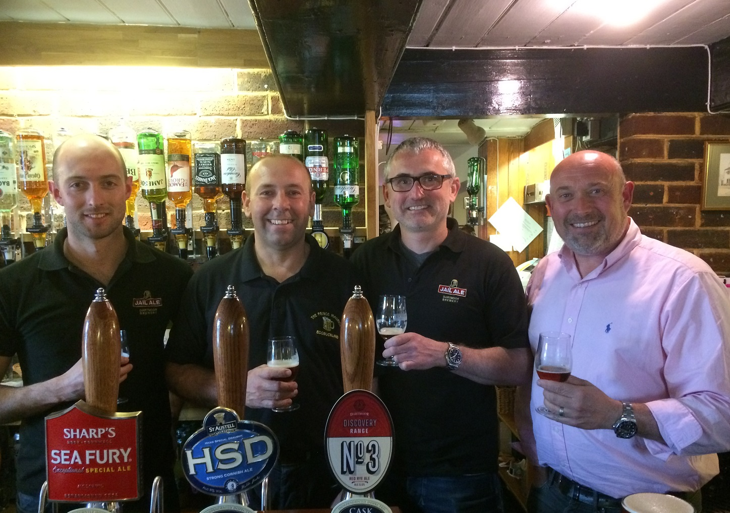 Launch of Red Rye ale at the Prince Maurice Inn