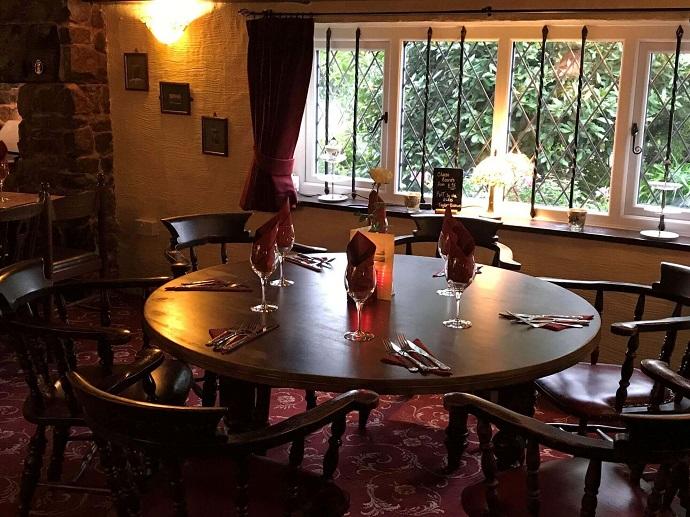 Greyhound Country Inn restaurant