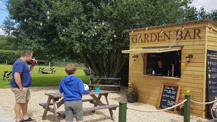 The Great British Beer Garden:  The Greyhound Country Inn