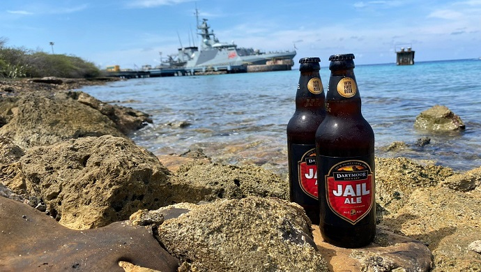 Jail Ale sails with the Royal Navy