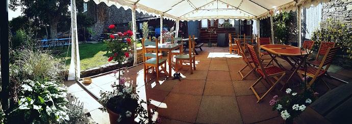 Tally Ho beer garden