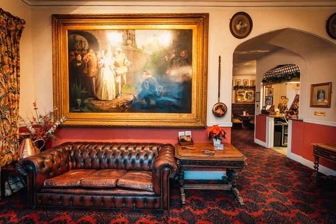 The Bedford Hotel foyer