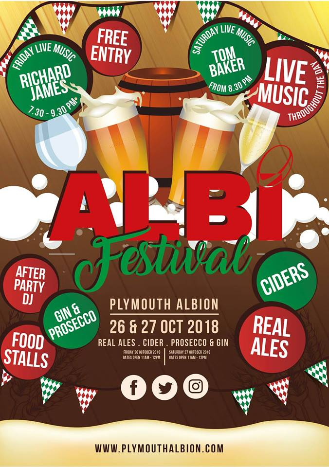 Albi Fest Plymouth Albion