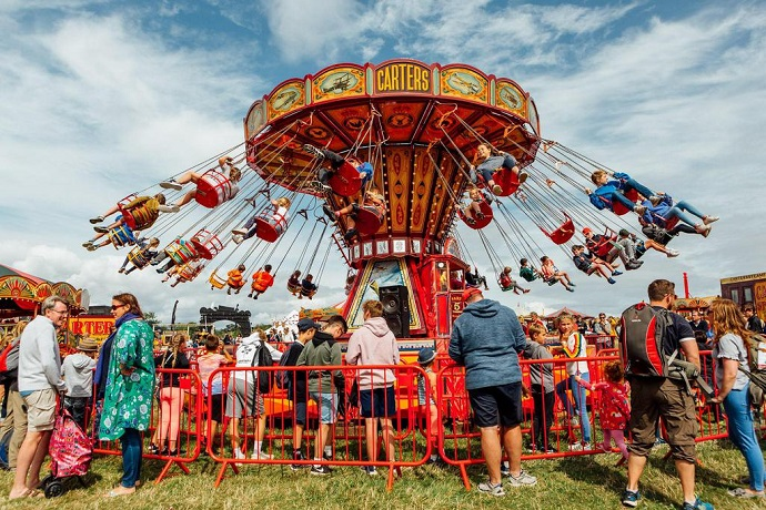 Fairground at CarFest South