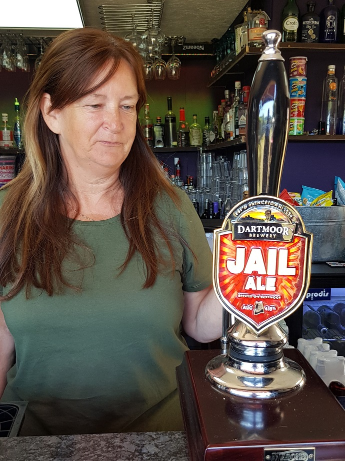 Jail Ale at Churston Manor