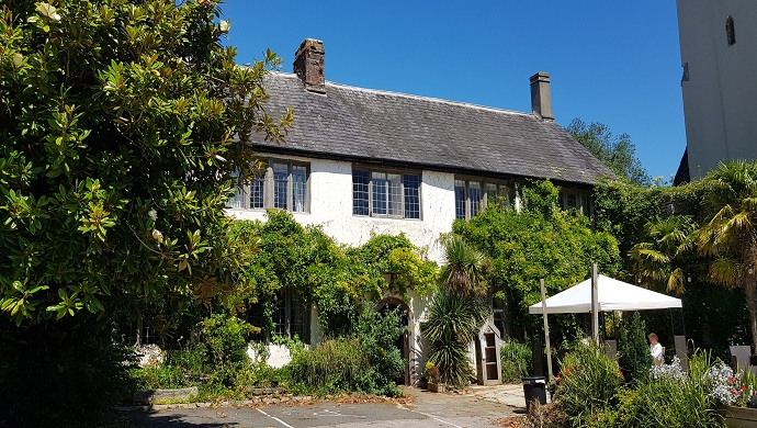 The Great British Beer Garden:  Churston Manor