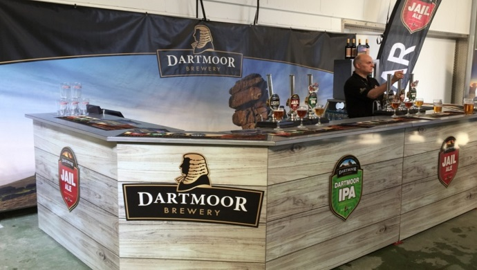 Dartmoor Brewery Goes Pop-Up