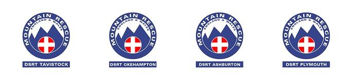 Dartmoor Rescue Group logos