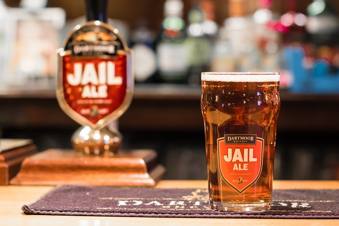 Pint of Jail Ale at the Queens Arms Slapton