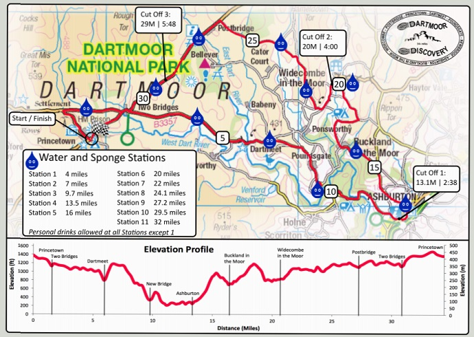 Dartmoor Discovery route