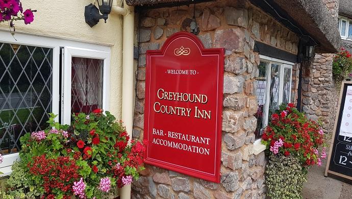 Greyhound Inn front entrance