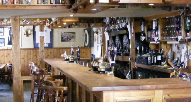Bar at the Lamb Inn Silverton