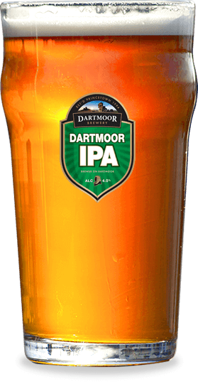 Pint of Dartmoor IPA