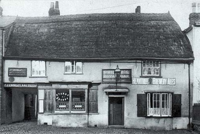 Old photo of the Royal Oak
